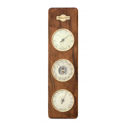 COBB & Co. Large 3 in 1 Barometer, Antique