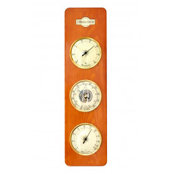 COBB & Co. Large 3 in 1 Barometer, Golden Oak