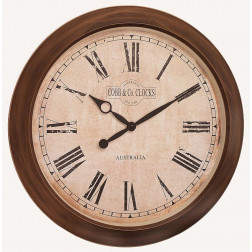COBB & Co. Large Outdoor/Indoor Antique Wall Clock