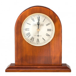 COBB & Co. Norman Mantle Clock, Golden Oak