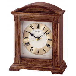 Seiko Wooden Mantle Clock QXG123B