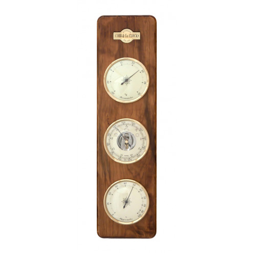 Cobb & Co Large 3 in 1 barometer in antique