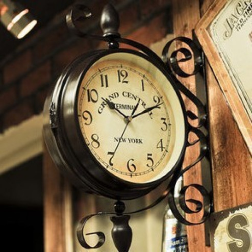 Grand Central Terminal Double Face Wall Clock