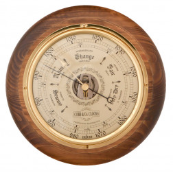 COBB & Co. Round Barometer, Antique