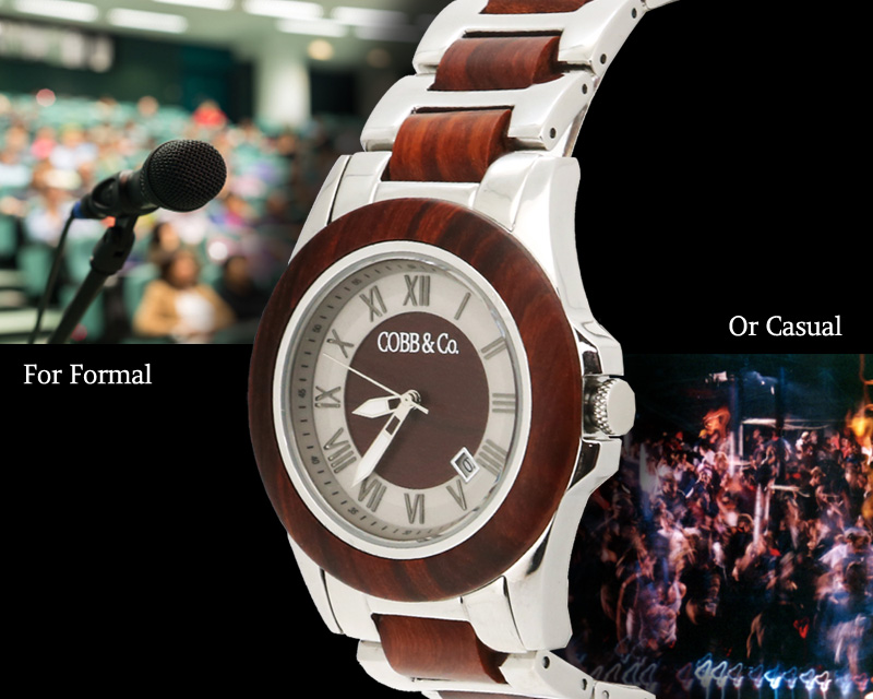 Wooden Watch for Formal or Casual